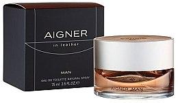 Парфюмерия и Козметика Aigner In Leather Man - Тоалетна вода