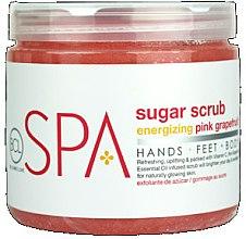 Парфюми, Парфюмерия, козметика Изглаждащ оризов скраб за тяло - BCL Spa Energizing Pink Grapefruit Rice Scrub