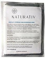 Парфюмерия и Козметика Хидратираща и освежаваща криогенна маска за лице - Naturativ Face Mask