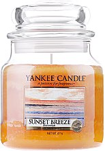 Парфюми, Парфюмерия, козметика Свещ в стъклено бурканче - Yankee Candle Sunset Breeze