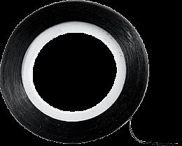 Парфюмерия и Козметика Декорираща лента за нокти, черна - Peggy Sage Decorative Nail Stickers Noir