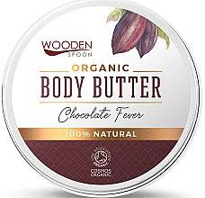 Парфюмерия и Козметика Шоколадово масло за тяло - Wooden Spoon Chocolate Fever Body Butter