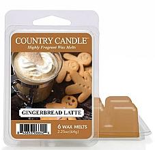 Парфюмерия и Козметика Восък за арома лампа - Country Candle Gingerbread Latte Wax Melts