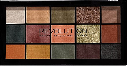 Палитра сенки за очи - Makeup Revolution Division Re-loaded Palette — снимка N1