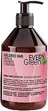 Парфюмерия и Козметика Балсам за боядисана коса - Dikson Every Green Colored Hair Restorative Conditioner