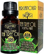 Парфюмерия и Козметика Масло от чаено дърво - Arganour 100% Pure Tea Tree Oil