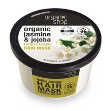 """Парфюмерия и Козметика Маска за коса """"Индийски жасмин"""" - Organic Shop Organic Jasmine and Jojoba Hair Mask"""
