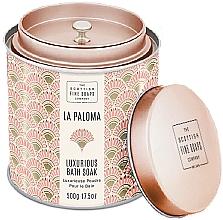 Парфюмерия и Козметика Scottish Fine Soaps La Paloma - Парфюмна пудра за вана