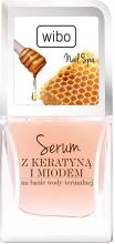 Парфюмерия и Козметика Балсам-серум за нокти с кератин и мед - Wibo Nail Spa Serum