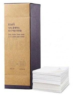 Памучни тампони - Klairs Toner Mate 2In1 Cotton Pad — снимка N1