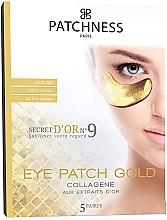Парфюмерия и Козметика Антистареещи пачове за очи с екстракт от злато - Patchness Eye Patch Gold
