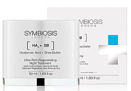 Парфюмерия и Козметика Ултраподхранваща и възстановяваща грижа за лице - Symbiosis London Ultra-Rich Regenerating Night Treatment