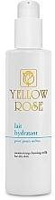 Парфюмерия и Козметика Почистващо мляко за лице за суха кожа - Yellow Rose Moisturising Cleansing Milk