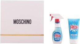 Парфюми, Парфюмерия, козметика Moschino Fresh Couture - Комплект (edt/30ml+b/lot/50ml)