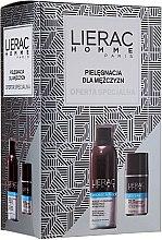 Парфюми, Парфюмерия, козметика Комплект за мъже - Lierac Homme (пяна за бръснене/150ml + део/50ml)
