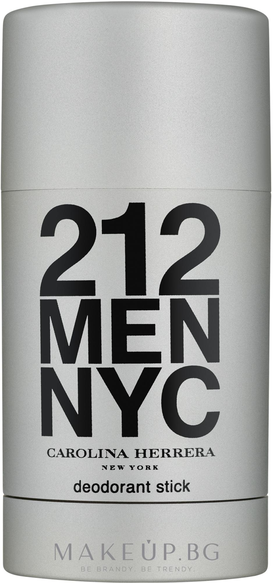 Carolina Herrera 212 For Man NYC - Стик дезодорант  — снимка 75 ml