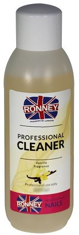 """Обезмаслител за нокти """"Ванилия"""" - Ronney Professional Nail Cleaner Vanilia"""