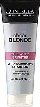Парфюмерия и Козметика Шампоан за допълнителен блясък при светли коси - John Frieda Sheer Blonde Brilliantly Brighter Shampoo