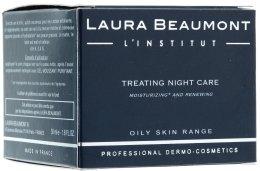 Парфюмерия и Козметика Лечебен нощен крем - Laura Beaumont Treating Night Care