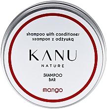 Парфюмерия и Козметика Шампоан и балсам 2в1 в метална кутия - Kanu Nature Shampoo With Conditioner Shampoo Bar Mango