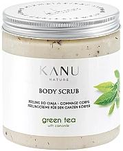 Парфюмерия и Козметика Скраб за тяло със зелен чай - Kanu Nature Green Tea Body Scrub