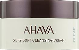 Парфюмерия и Козметика Мек почистващ крем за лице - Ahava Time to Clear Ahava Silky Soft Cleansing Cream