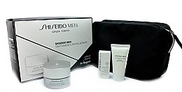 Парфюмерия и Козметика Комплект - Shiseido Men Total Revitalizer Set (cr/50ml + foam/30ml + eye/cr/3ml + bag)