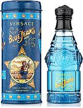 Парфюми, Парфюмерия, козметика Versace Blue Jeans - Тоалетна вода