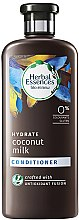 Парфюми, Парфюмерия, козметика Балсам за коса - Herbal Essences Coconut Milk Conditioner