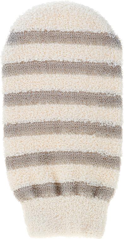 Почистваща ръкавица за баня, 6102, райета - Donegal