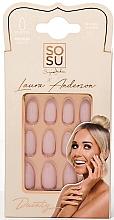 Парфюмерия и Козметика Изкуствени нокти - Sosu by SJ False Nails Medium Stiletto Laura Anderson Dainty