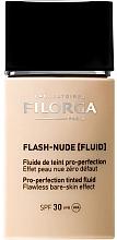 Парфюмерия и Козметика Флуиден фон фьо тен - Filorga Flash Nude SPF 30
