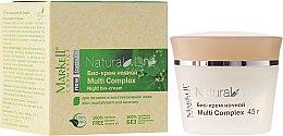"Парфюми, Парфюмерия, козметика Нощен био-крем ""MultiComplex"" - Markell Cosmetics Natural Line"
