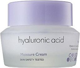 Парфюмерия и Козметика Хидратиращ крем за лице с хиалуронова киселина - It's Skin Hyaluronic Acid Moisture Cream