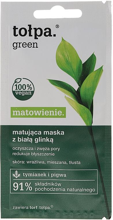 Матираща маска за лице - Tolpa Green Mask