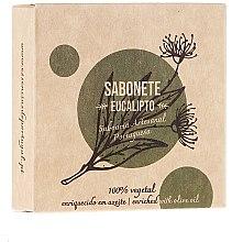 Парфюмерия и Козметика Натурален сапун с евкалипт - Essencias De Portugal Senses Eucalyptus Soap With Olive Oil