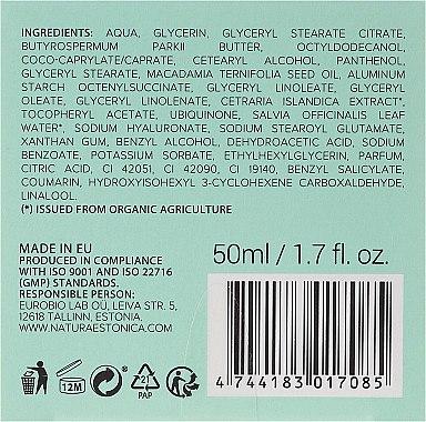 """Матиращ крем за лице """"Исландски мъх"""" - Natura Estonica Iceland Moss Face Cream — снимка N3"""