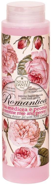 Душ гел с роза и божур - Nesti Dante Romantica Shower Gel