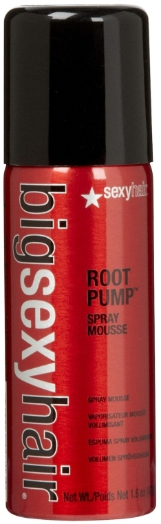 Мус-спрей за обем - SexyHair BigSexyHair Root Pump Spray Mousse Pumps Up Hair For Big Volume — снимка N2