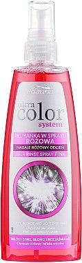 Спрей лосион за розов оттенък на светла коса - Joanna Ultra Color System Hair Spray Lotion