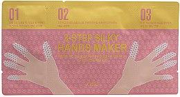 Парфюмерия и Козметика 3-степенна маска за ръце и нокти - A'pieu 3-Step Silky Hands Maker