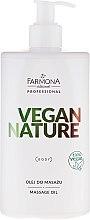 Парфюмерия и Козметика Масажно масло - Farmona Professional Vegan Nature Massage Oil