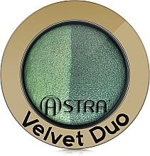 Парфюмерия и Козметика Сенки за очи - Astra Make-up Velvet Duo Eyeshadow