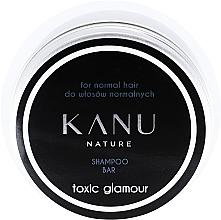 Парфюмерия и Козметика Шампоан за нормална коса в метална кутия - Kanu Nature Shampoo Bar Toxic Glamour For Normal Hair
