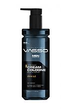 Парфюмерия и Козметика Крем-одеколон след бръснене - Vasso Professional Men After Shave Cream Cologne Sine Out