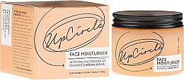Парфюмерия и Козметика Хидратираща емулсия за лице с арганова пудра - UpCircle Face Moisturiser With Argan Powder