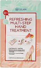 Парфюми, Парфюмерия, козметика Многостепенна освежаваща грижа за ръце - Celkin Refreshing Multi Step Hand Treatment