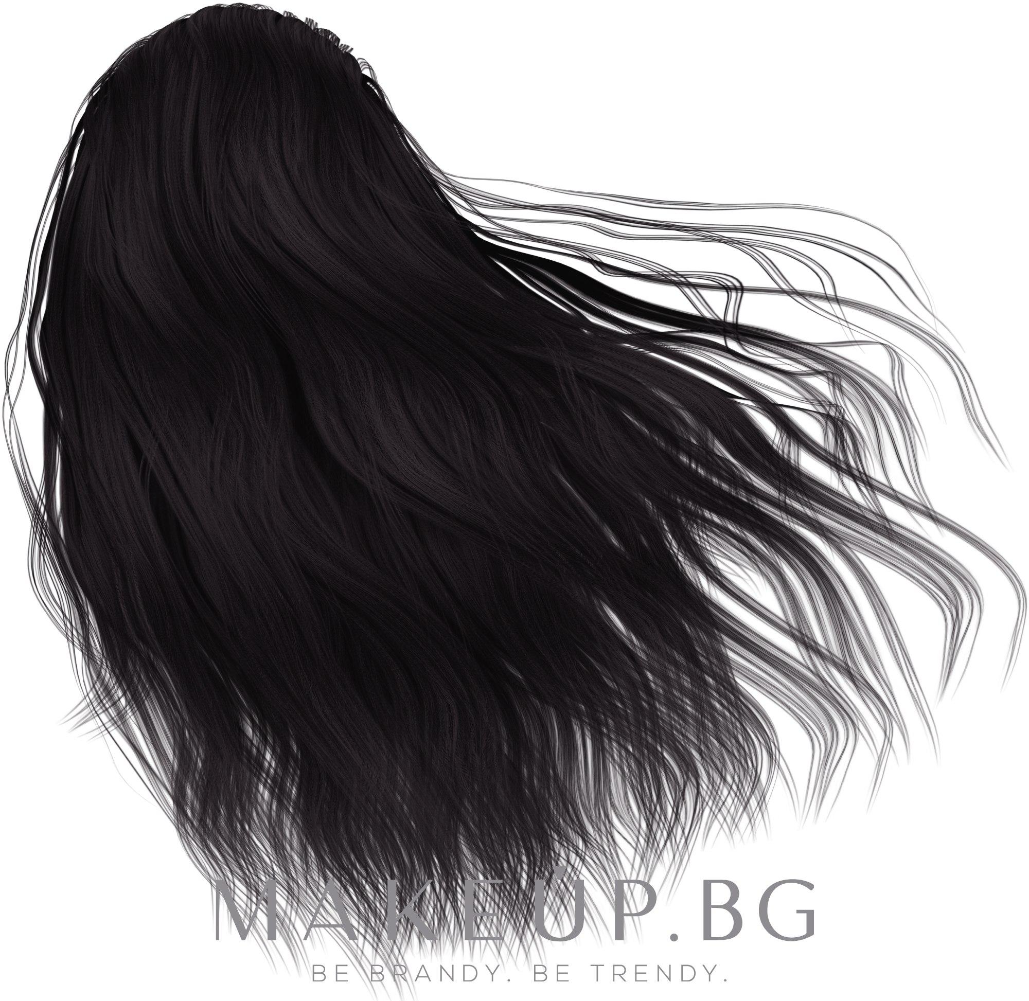 Боя за прикриване на бели коси - Matrix Socolor Beauty — снимка 1А - Пепелно синьо-черно