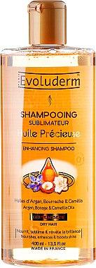 Възстановяващ шампоан за суха коса - Evoluderm Huile Precieuse Shampoo