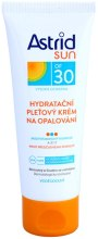 Парфюми, Парфюмерия, козметика Слънцезащитен овлажняващ крем за лице SPF30 - Astrid Sun Moisturizing Face Cream SPF30